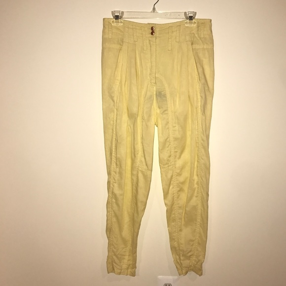 enjoy clearance price price reduced provide plenty of Alexander Wang Yellow Zip High waist trouser Boutique
